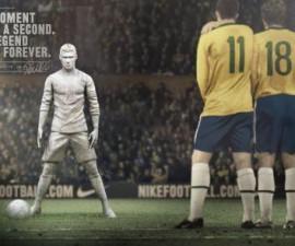 футбольный ролик рекламы Nike